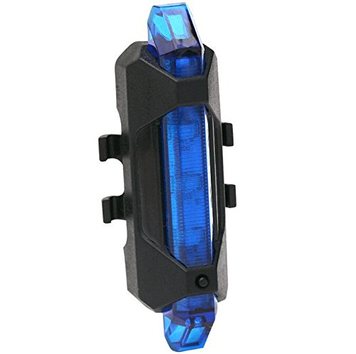 Water Resistant Bicycle Bike Rear Tail Safety Flashing Light 5 LED - 6