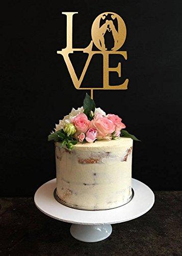 Love Wedding Cake Toppers, Philadelphia Love Cake Topper, Wedding, Anniversary, Bridal Shower, Engagement Party Cake Topper