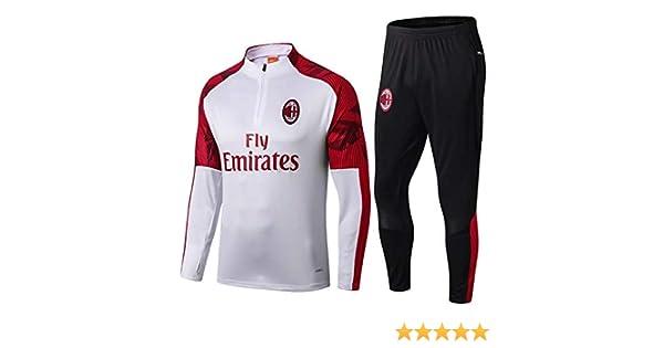 Sac Milan Sports Football Mangas de Entrenamiento 19~20: Amazon.es ...