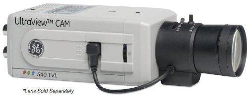 (GE Security UVC-EVRDN-HR UltraView EVR Series True Day/Night Box Camera, 540 TVL, UTP, BNC, 12vdc/24vac)