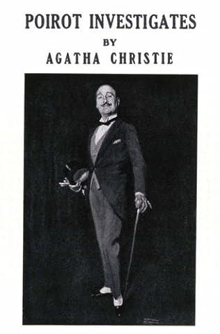 book cover of Poirot Investigates