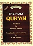 Roman Transliteration of the Holy Quran with Full Arabic Text, Abdullah Yusuf Ali, 1930097530