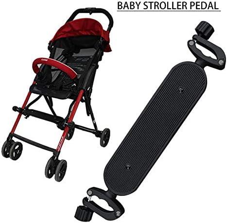 [해외]유모차 소품 발판 유모차 발판 다리 포켓 유모차 다리 지원 매트 발판 다리 망원 (40 ~ 48cm) / Stroller Small Footrest Stroller Foot rest Foot Pocket Stroller Foot Support Mat Footrest Foot Rest Stretch Type (40-48cm)