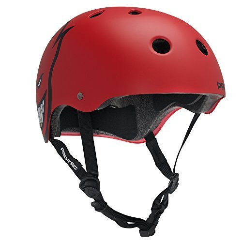 PROTEC Original Classic Helmet CPSC-Certified, Spitfire Red, Small Size: XS Color: Spitfire, Model: 115702002, Outdoor & Hardware (Protec Pool)