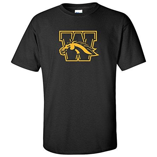 AS02 - Western Michigan Broncos Primary Logo T-Shirt - X-Large - (Western Michigan University Football)