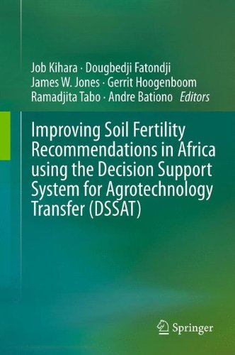 Search : Improving Soil Fertility Recommendations in Africa using the Decision Support System for Agrotechnology Transfer (DSSAT)