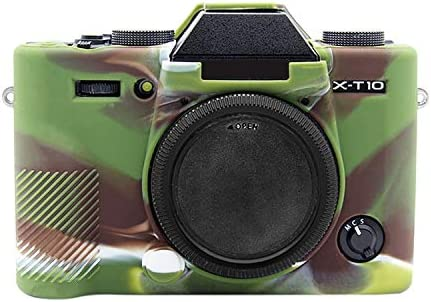 YANTAIANJANE Camera Accessories Soft Silicone Protective Case for FUJIFILM XT10 Camouflage Color : Yellow