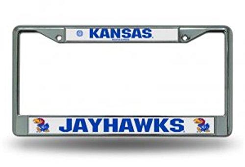 NCAA Kansas Jayhawks Chrome Plate Frame