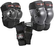 Triple Eight Saver Series Pad Set Kneesavers Elbowsavers Wristsavers