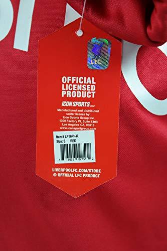 Front Fleece Jacket Sweatshirt Official Soccer Hoodie Small Liverpool F.C