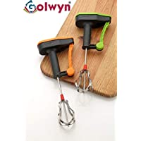 Golwyn Plastic Hand Mixer blenders for Kitchen, Milk, Coffee,lassi, Egg Beater blenders, Buttermilk Hand Mixers for Kitchen