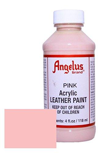 Angelus Acrylic Leather Paint 4oz Pink