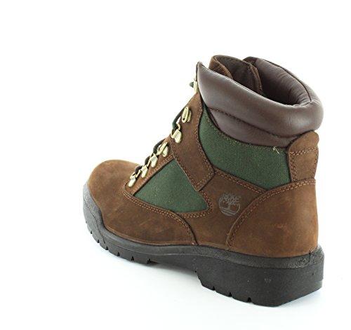 Timberland Men's Cordones Ankle Boots 72510-brown Green Beef Brocolli SlIWz3Ms