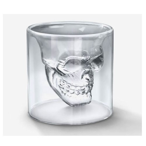 Cool Crystal Skull Glass Drinking Ware Glassware