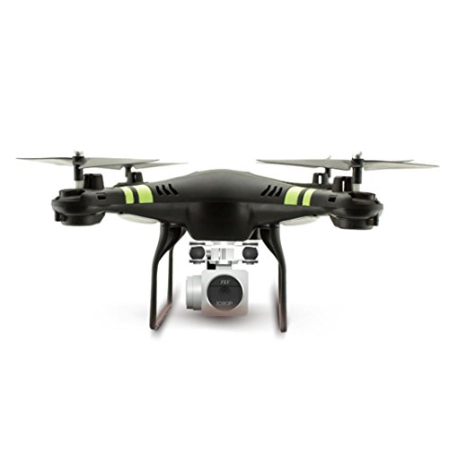 Southey 2.4G Altitude Hold HD Camera Quadcopter RC Drone 2MP WiFi FPV Helicopter Hover (Black)