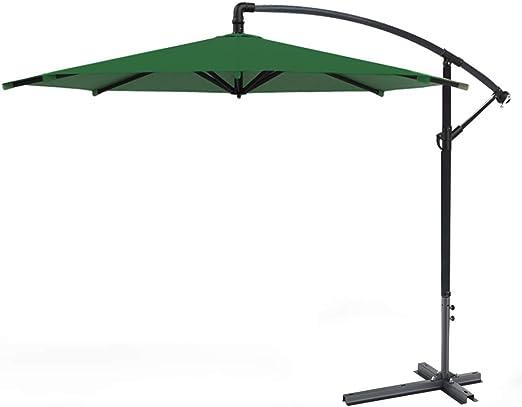 Parasol LZPQ Outdoor Sombrilla para Jardín y Exteriores inclinación Ajustable y pie de Apoyo: Amazon.es: Jardín