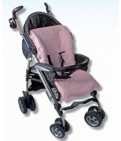 Almatex Funda de esponja para carrito de beb/é ROSA