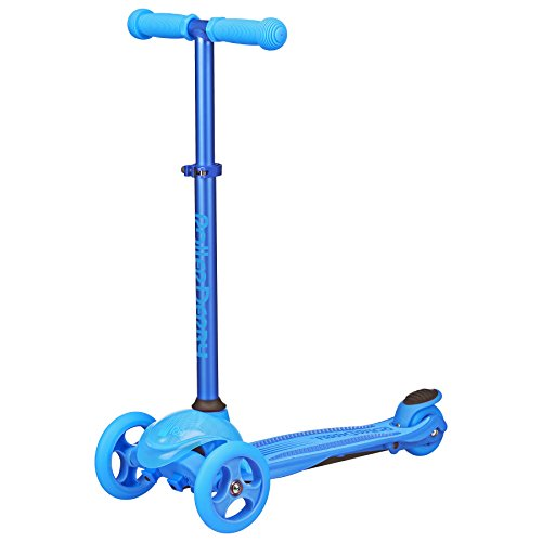 Roller Derby WRDS101BU 3 Wheel Scooter, Blue