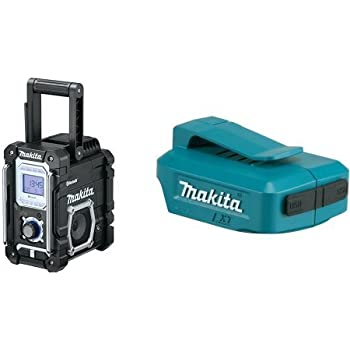 makita xrm04b 18v lxt lithium ion cordless bluetooth job. Black Bedroom Furniture Sets. Home Design Ideas