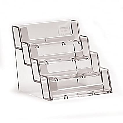 A4 Leaflet Holders Counter Display Stand Flyer Menu Retail Dispensers