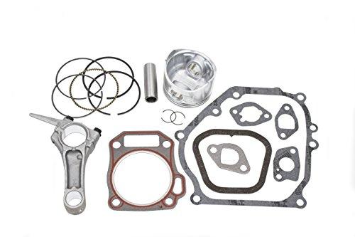 New Piston Kit With Connecting Rod and Full Gasket Set Fits Honda GX160 (Honda Piston Kits)