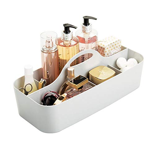 MDesign Plastic Portable Organizer Bathroom