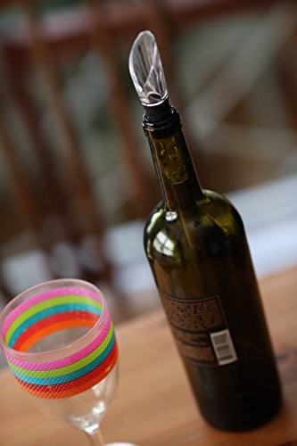 Wine Chiller: 3-in-1 Stainless Steel Wine Bottle Chiller Stick with Aerator and Decanter