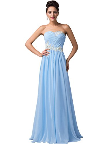 light blue ball gown - 4