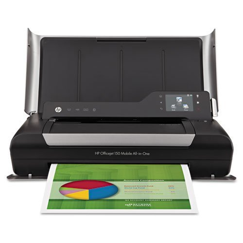HP Officejet 150 Mobile All-in-One Inkjet Printer, Copy/Print/Scan (Certified Refurbished)