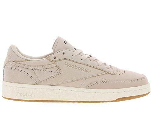 Classic Pink Old 85 Reebok Club Sneaker Pelle C Vera Ladies 1d4xpqwz