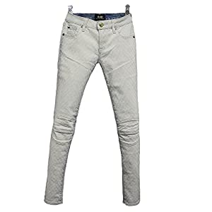 D-ID Denim Island Cycle Biker Skinny, Whitened