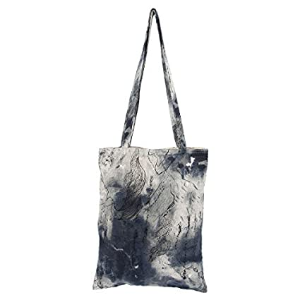 eDealMax algodón de lino paisaje Impresión Exterior Playa soporte de producto a hombro de la lona