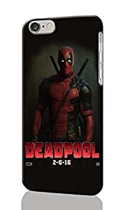 "Deadpool ~ Personalized Custom Beauty Diy 3D Rough Surface Durable Hard Case Cover Skin Unique iphone 6 Case ~ (iPhone 6, 4.7"" Case)"