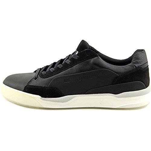 Puma Menns Mcq Flytte Lo Snøre Ankel-høy Skinn Mote Sneaker Sort / Puma Svart / Puma Hvit
