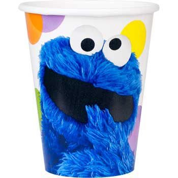 Sesame Street Cups (8-pack) - Party Supplies (Abby Cadabby Beverage Napkins)