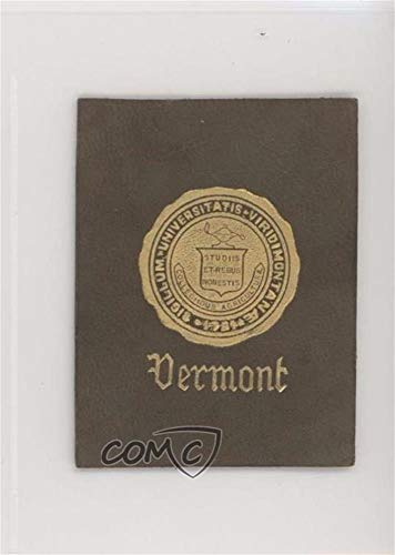 Vermont Ungraded COMC Good to VG-EX (Trading Card) 1910-12 ATC College Seals Leathers - Tobacco L20#VERM