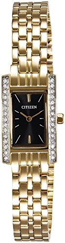 Citizen Analog Black Dial Unisex Watch - EZ6352-58E