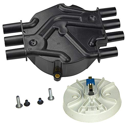 - Bravex Ignition Distributor Cap & Rotor Kit Fits D328A 10452458 DR475 Olds Chevy GMC Pickup Truck SUV Van 4.3L V6