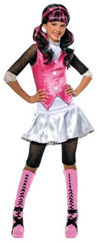 [Monster High Draculaura Costume - As Shown - Large] (Fun Halloween Costumes For Tweens)