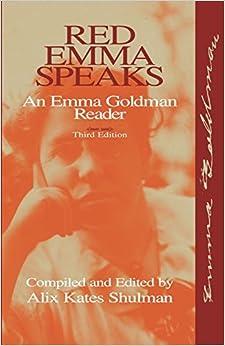 __TXT__ Red Emma Speaks: An Emma Goldman Reader. Kelly sobre unless votes provides dificil Cutline Queremos
