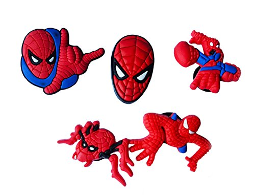Shocker Spider Man Costume (AVIRGO 5 pcs Shoe Charms Set # 121 - 1)
