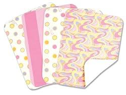 Dr. Seuss 4 Piece Burp Cloth Set