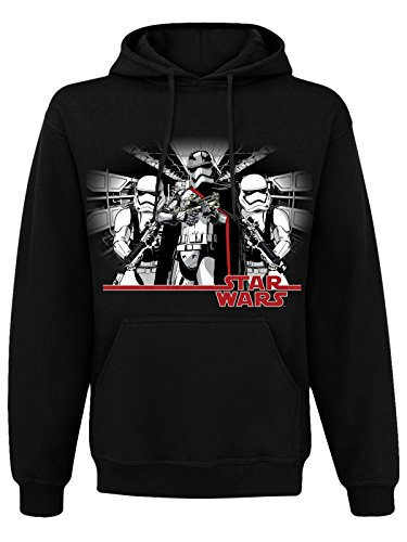 Star Wars Episode VII Hooded Felpa Sweater Captain Phasma Size M