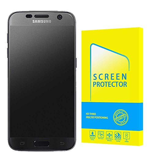 Price comparison product image [3 Pack] Screen Protector for Samsung Galaxy S7 [Bubble-Free] [Case Friendly] [New Vesion] HD Clear Flexible Film