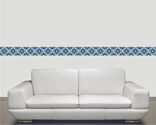 Moroccan Style Vinyl Decal Strips For Stair Risers/ Wall