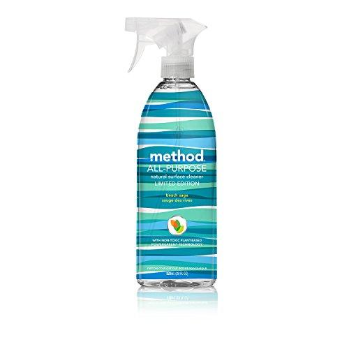Метод Универсальный природный очиститель поверхности, Пляж Sage, 28 унций (в упаковке 8)
