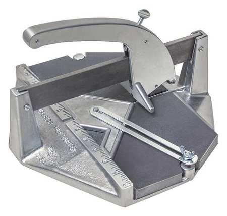 Tile Cutter, Cast Aluminum, 12in. x 12in.