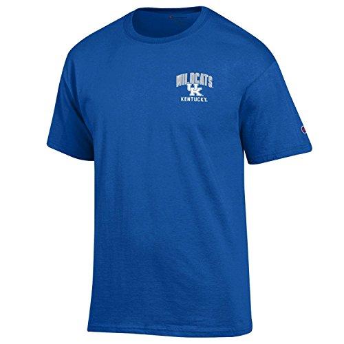 Champion NCAA Men's Backfield Short Sleeve T-Shirt, Royal Blue, Large 1 Fan Blue T-shirt