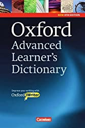 Oxford Advanced Learner's Dictionary - 8th Edition: Oxford advanced learner's dictionary of current English (inkl. CD-ROM)
