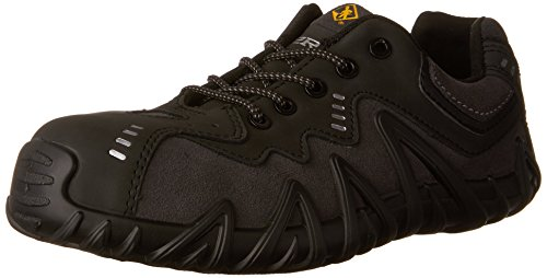 Kodiak Steel Toe Shoes - Terra Men's Spider Work Shoe, Black, 9.5 M US